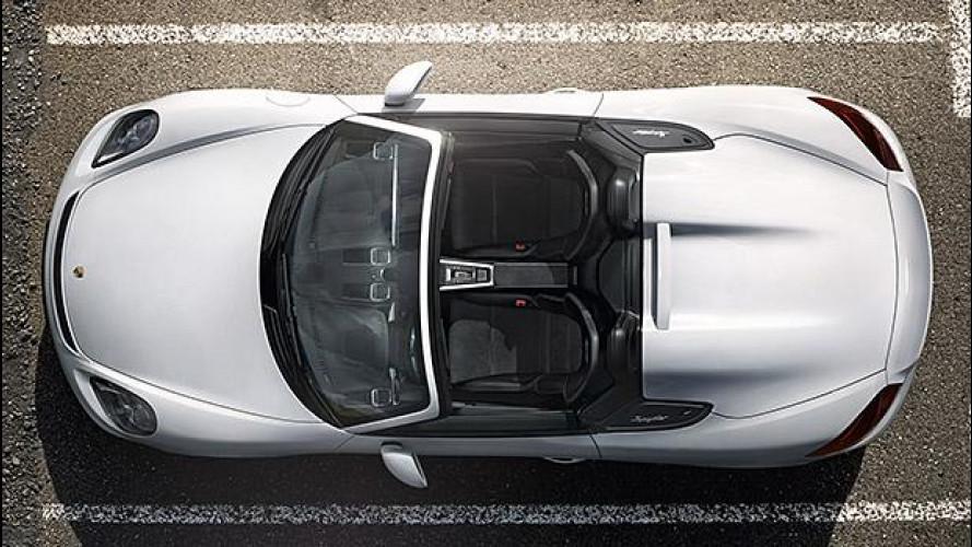 Porsche Boxster Spyder, la leggerezza del correre