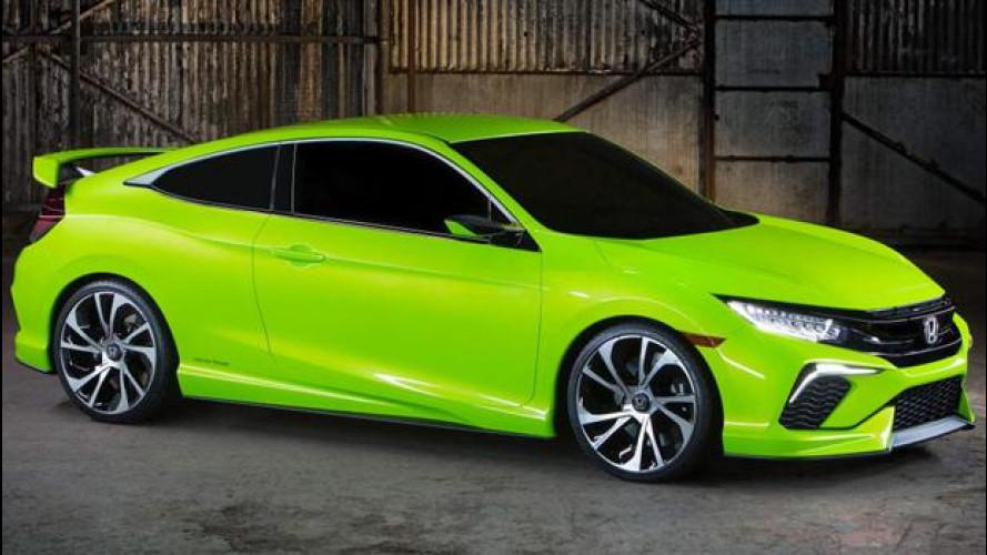 Honda Civic concept, ritorno alle origini