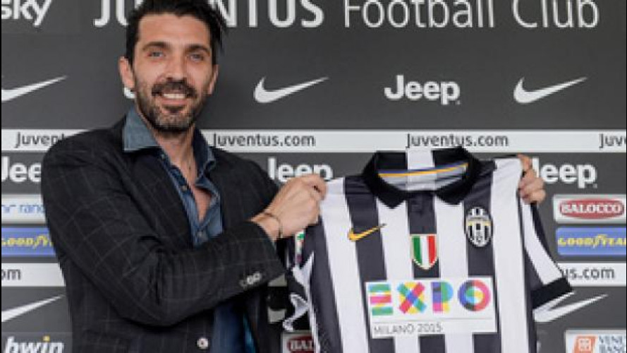 Expo Milano 2015 è sulle maglie della Juve insieme a FCA