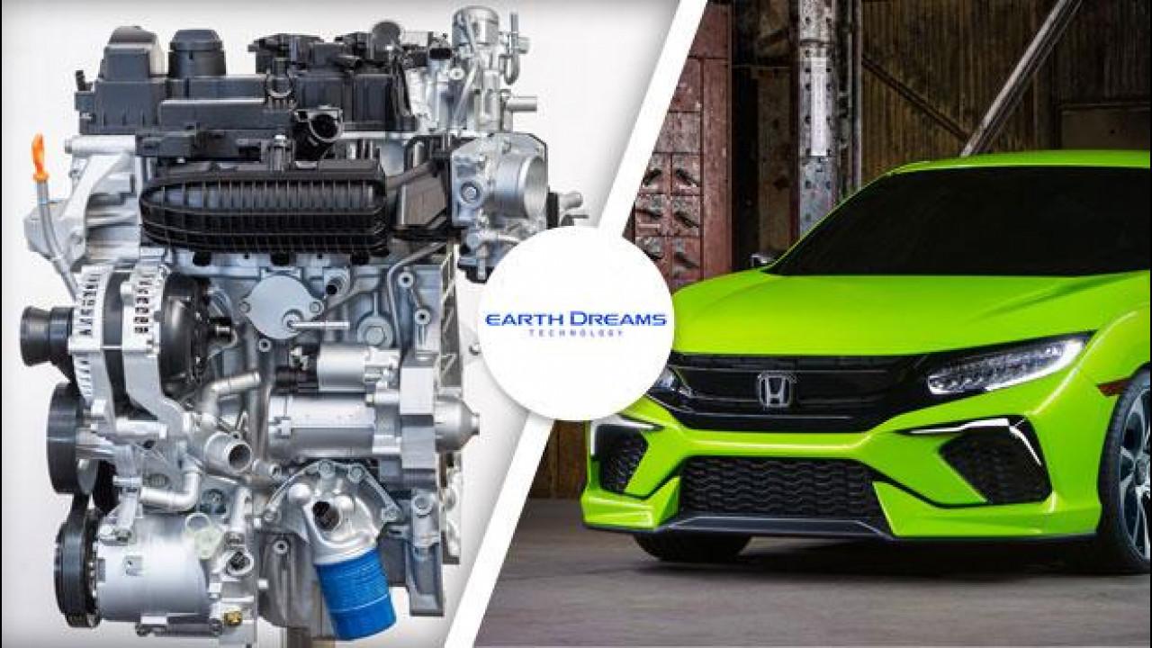 [Copertina] - Honda Civic, la prossima avrà motori VTEC Turbo 1.0 e 1.5