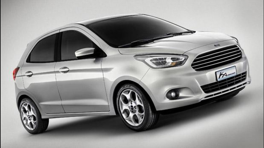 [Copertina] - Ford Ka Concept