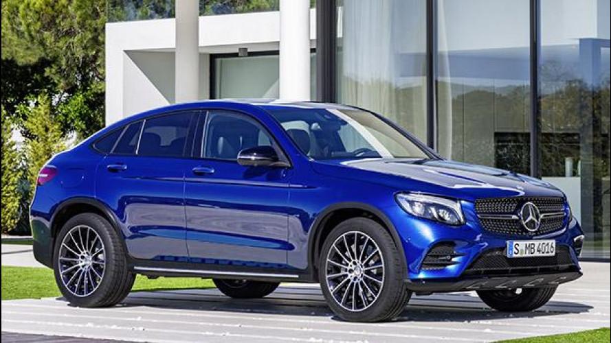 Mercedes GLC Coupé, sportività al piano rialzato