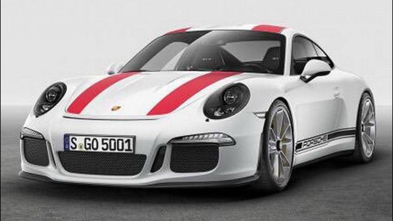 [Copertina] - Porsche 911 R, le prime foto [VIDEO]