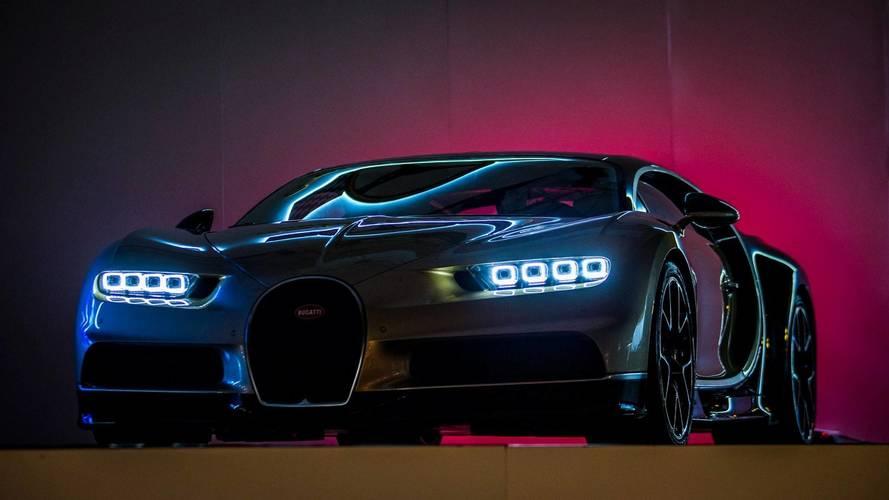 Bugatti rappelle 47 Chiron à travers la planète
