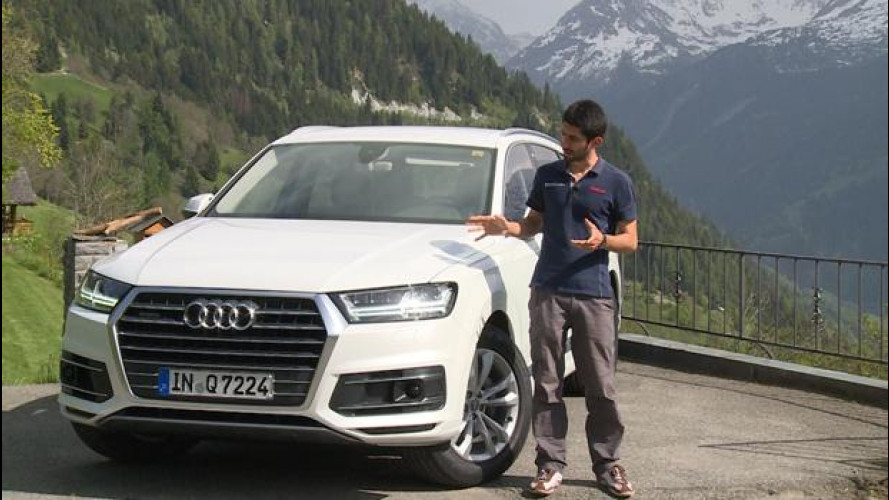 Audi Q7, meno kg e più tecnologia [VIDEO]