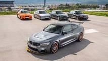 BMW M3 yelpazesi
