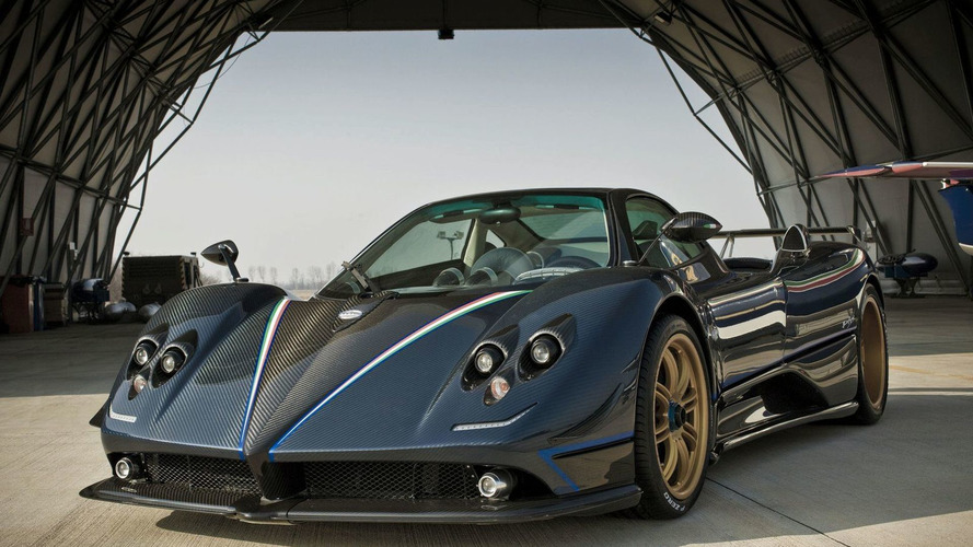 Pagani Zonda Tricolore first photos - 1600 - 25.02.2010