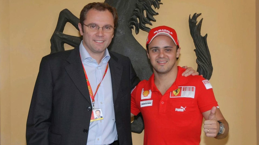 Felipe Massa meets the Ferrari 458 Italia [video]