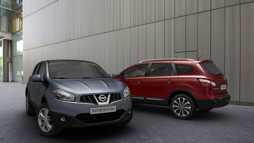 2010 Nissan Qashqai Facelift Revealed (UK)
