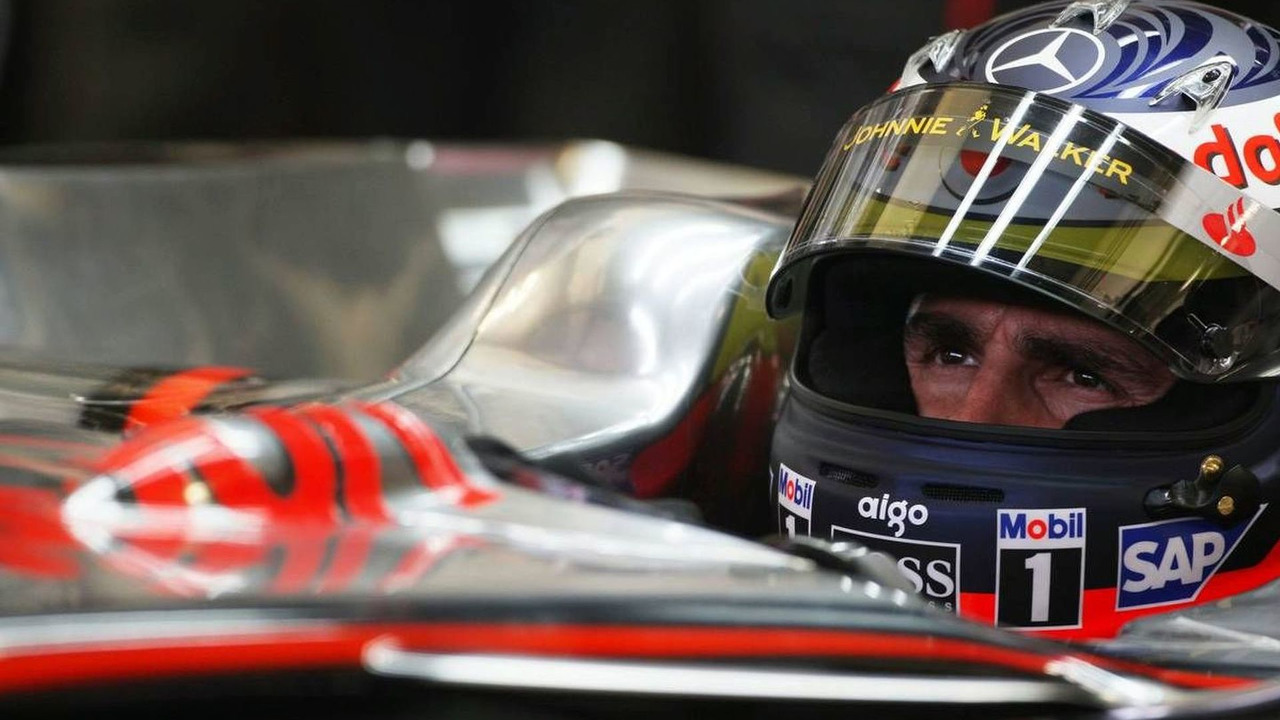 Pedro de la Rosa (ESP), Test Driver, McLaren Mercedes - Formula 1 Testing, 09.12.2008 Jerez, Spain,