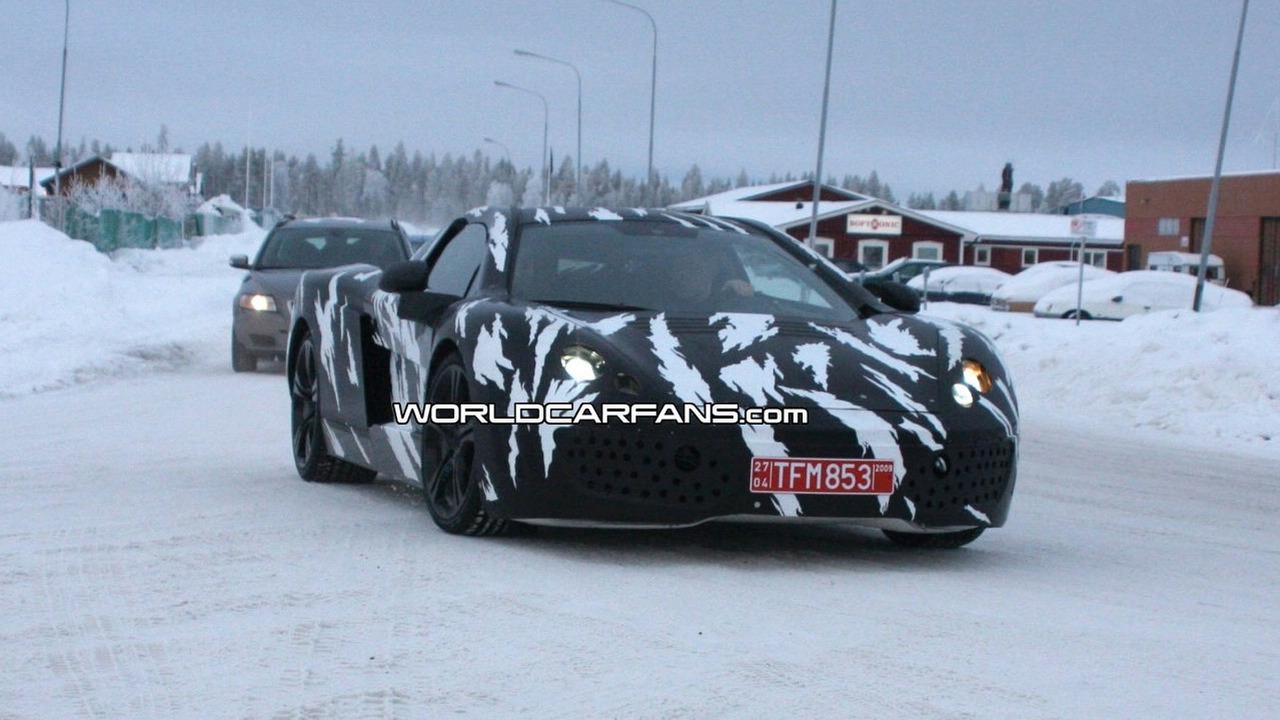 McLaren P11 spy photo