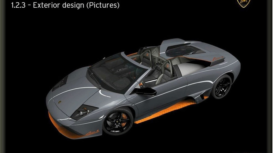 Lamborghini Murcielago LP650-4 Roadster Photos Leaked