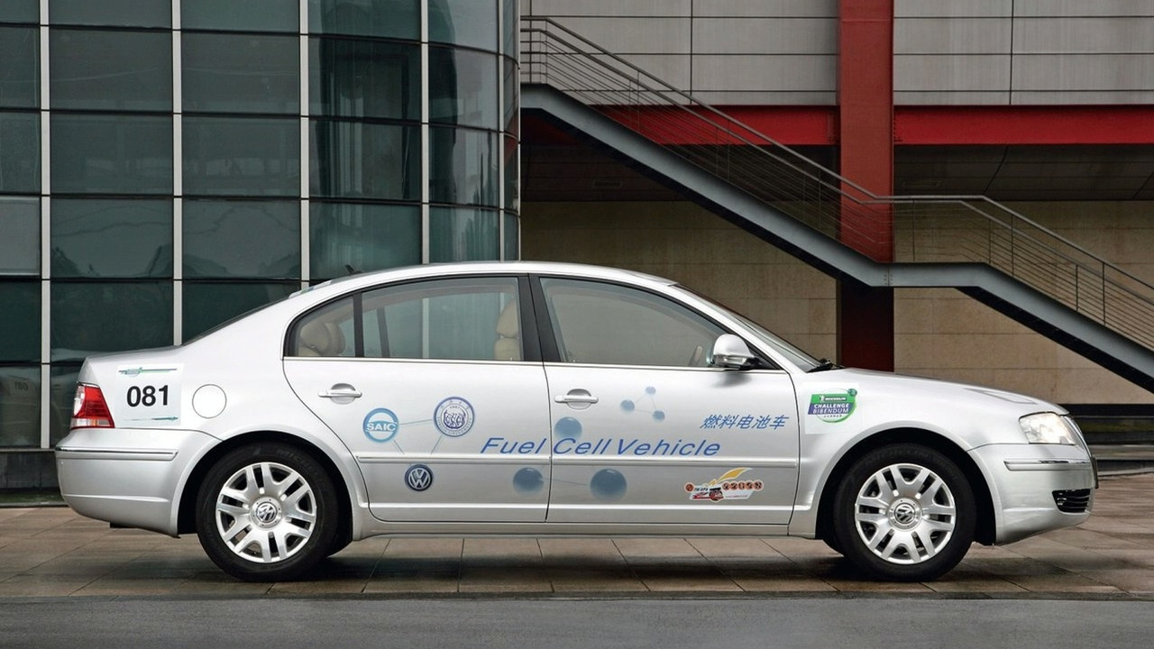 VW Passat Lingyu Fuel Cell vehicle