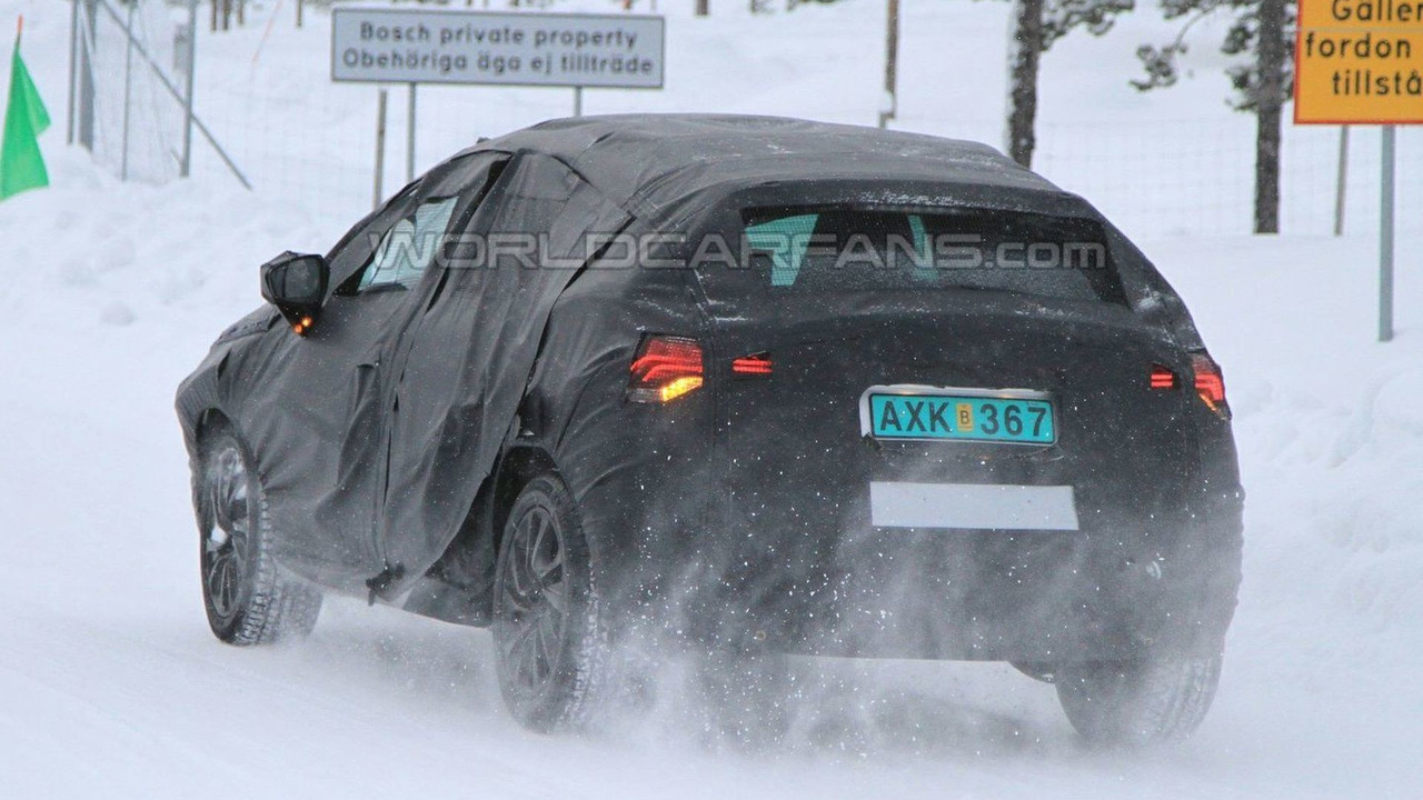 Citroen DS4 Winter Spy Photos - 18.02.2010