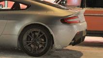 2011 Aston Martin Vantage facelift first spy photos - 08.02.2010