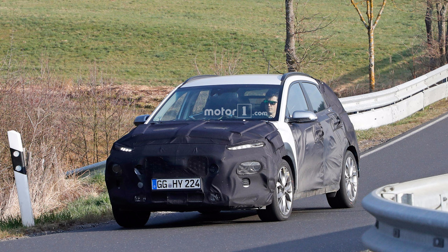 Hyundai Kona Spy Photos