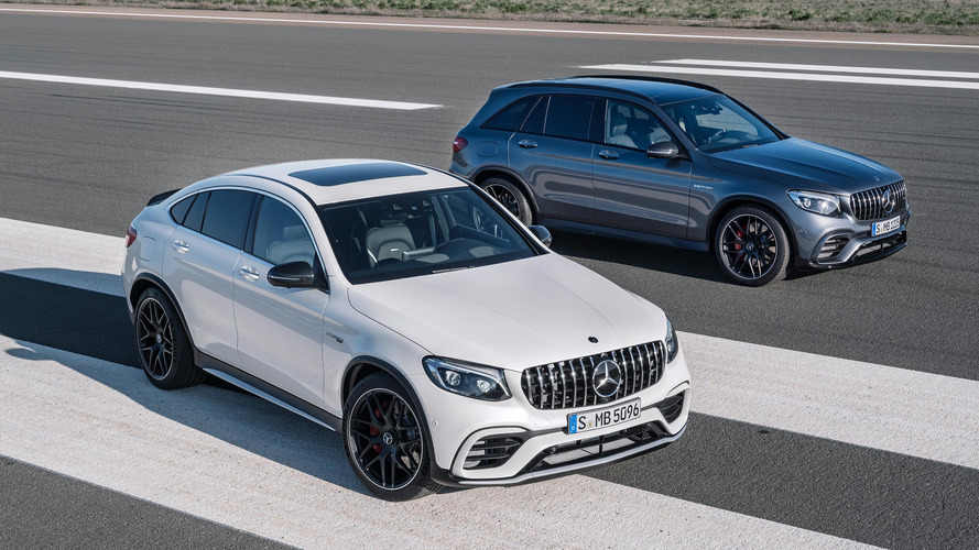 New Mercedes-AMG GLC63: Supercar V8 Engine For Hot SUV