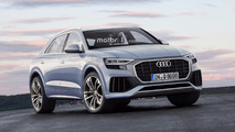 Audi Q8 et RS Q8 renderings