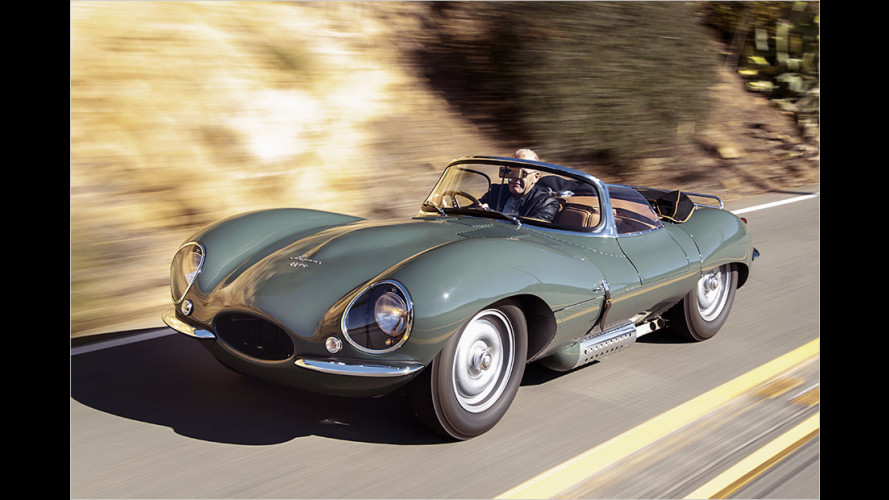Jaguar legt historischen XKSS ganz neu auf