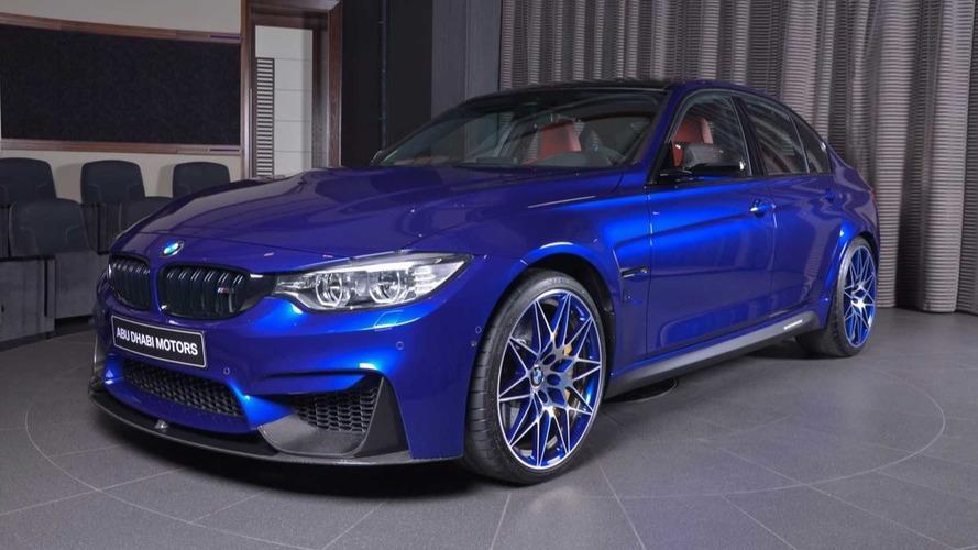 No te pierdas el BMW M3 más exclusivo de Abu Dhabi