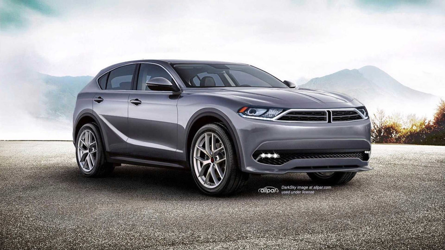 Stelvio-Based Dodge Journey Rendered Based On Insider Knowledge