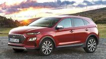 Hyundai Kona 2017 recreación
