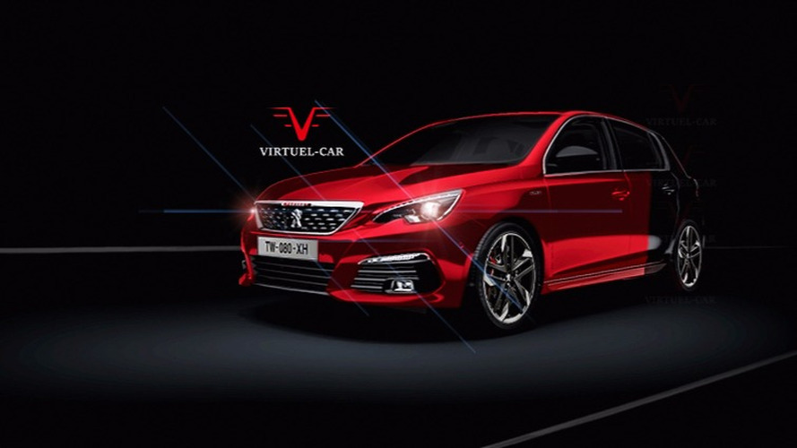 Peugeot 308 GTi II illustration
