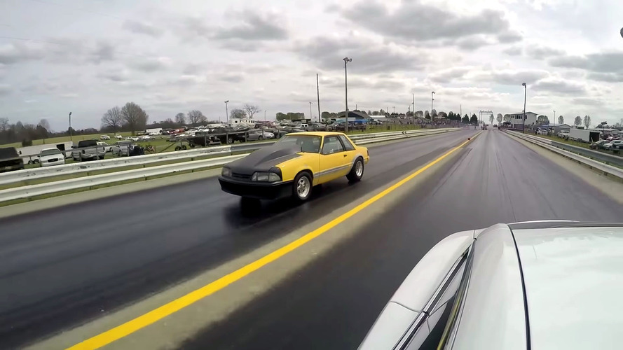 Tesla Model S P100D drag races different vehicles