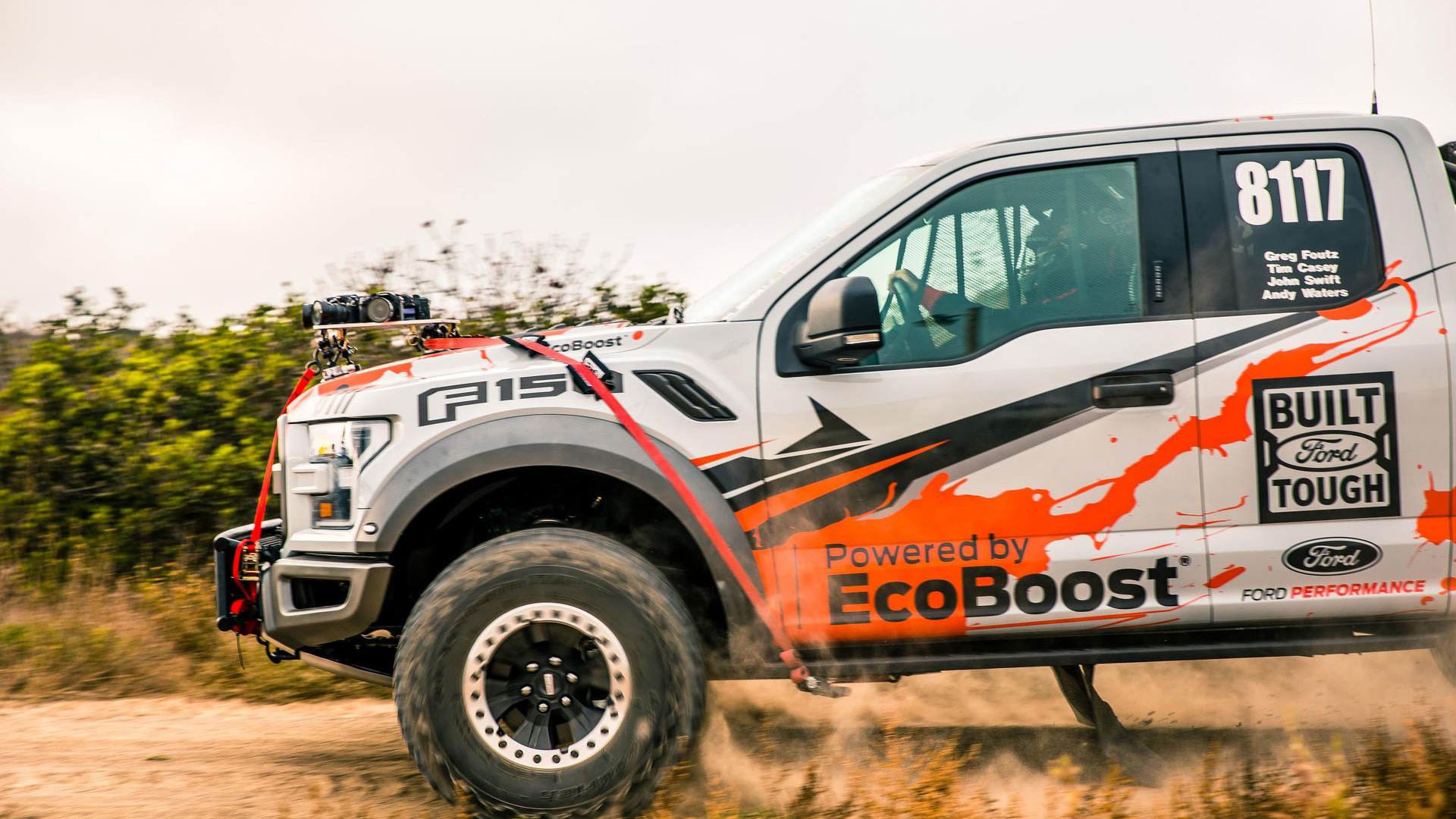Ford F-150 Raptor 360/VR Video Documents Factory to Baja Journey