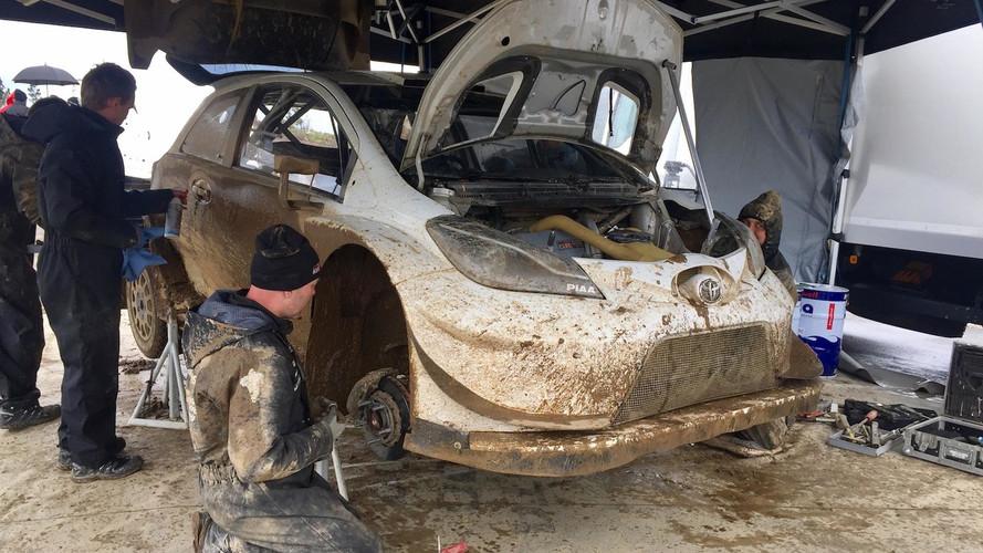 Toyota Yaris WRC 2017 Test Portugal