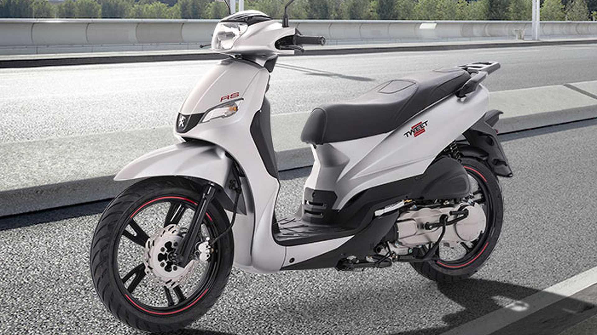 Peugeot Scooters 125 Cm3 Tweet Y Django Motor1 Com Fotos