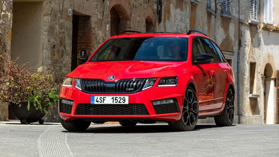 Skoda Octavia RS 245 Shows Its Sporty Side In New Images, Videos