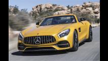 Mercedes-AMG GT Roadster: Krach-Terrasse