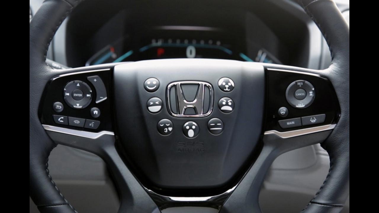 Honda: Emojis auf dem Multifunktionslenkrad