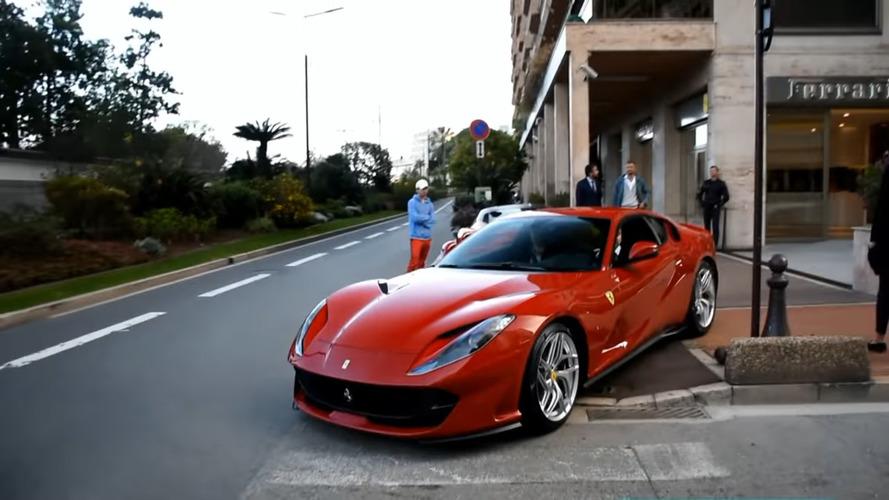 Vidéo – La première Ferrari 812 Superfast est arrivée à Monaco