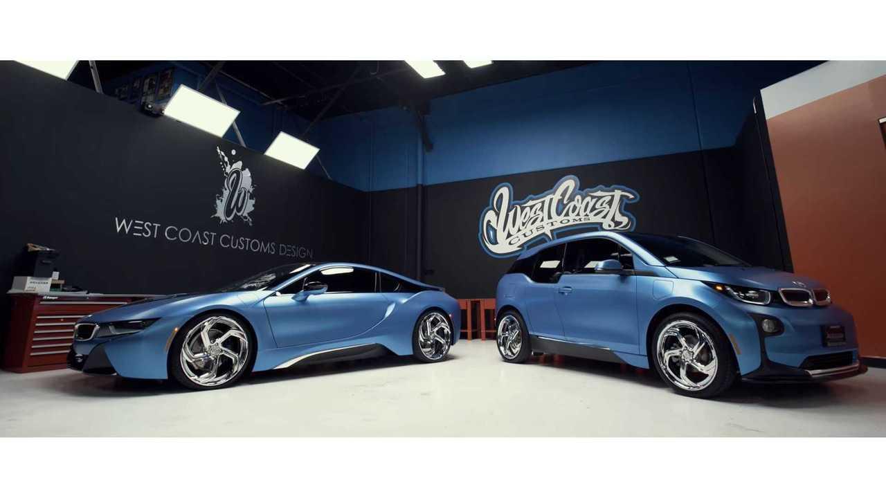 West Coast Customs Shows Off BMW i3, i8 - Video