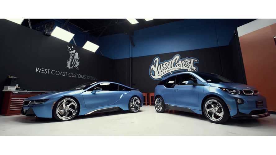 West Coast Customs Shows Off BMW i3, i8 - Video