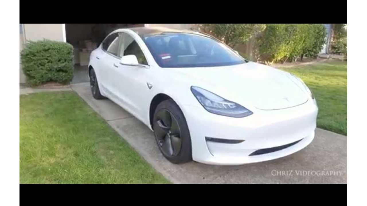 Tesla Model 3 Baby Seat And Stroller Test - Video