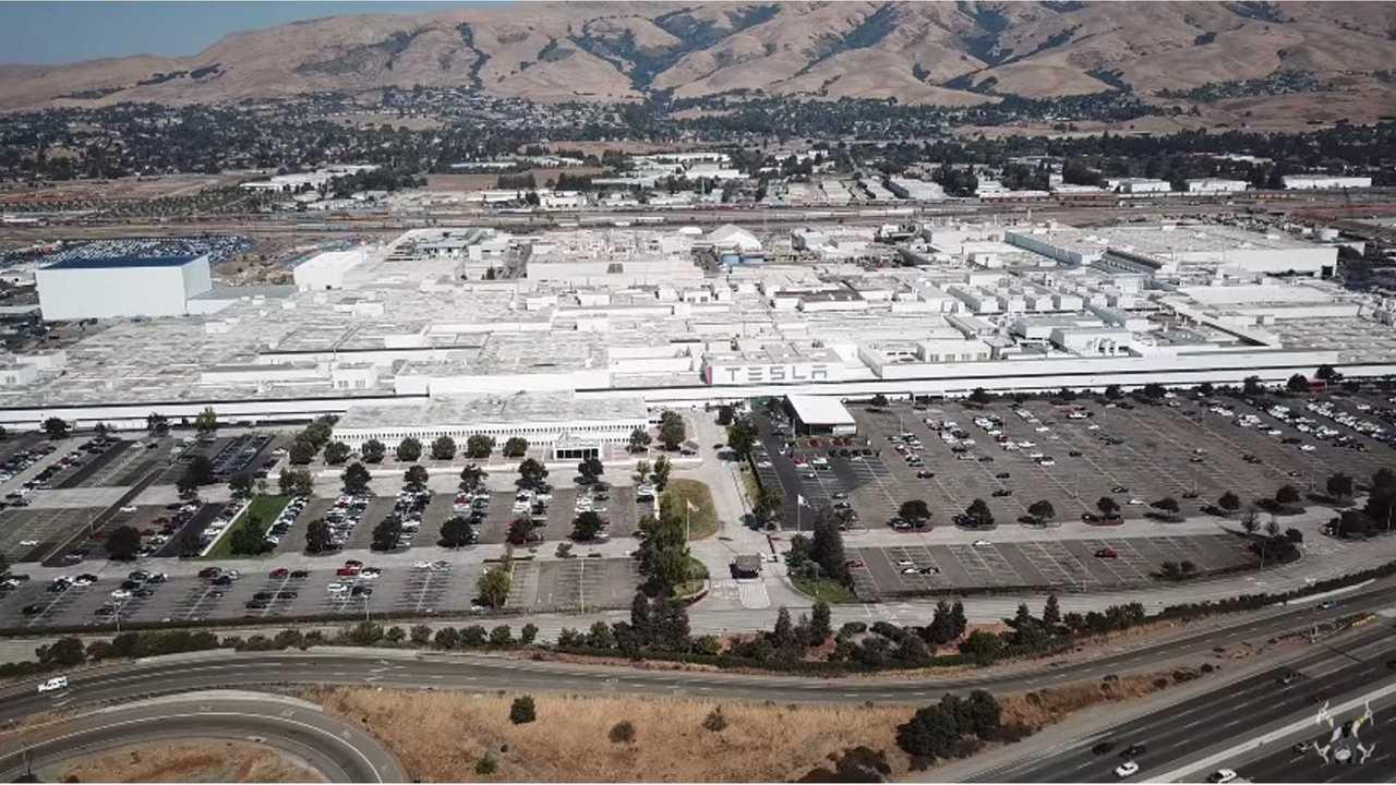 Tesla Factory - Fremont, California (source: California Phantom)