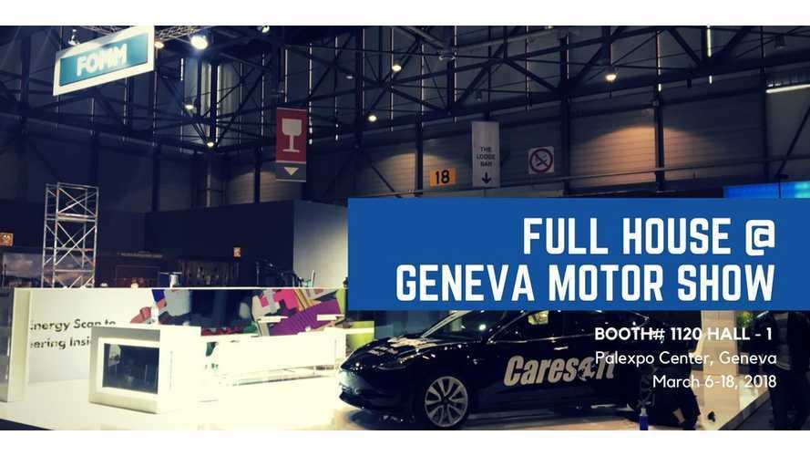 Model 3 Appears At Geneva Motor Show, But Not Tesla