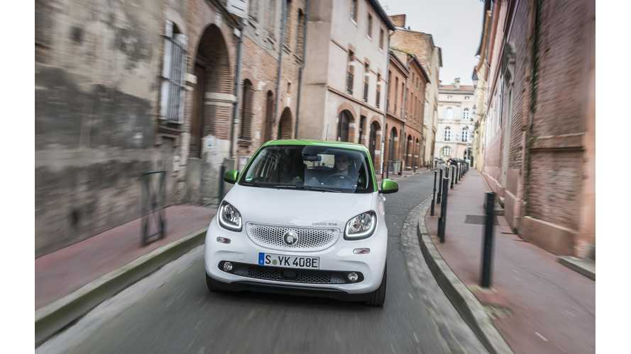 Smart Details Plan To Go Electric-Only In Europe, Worldwide