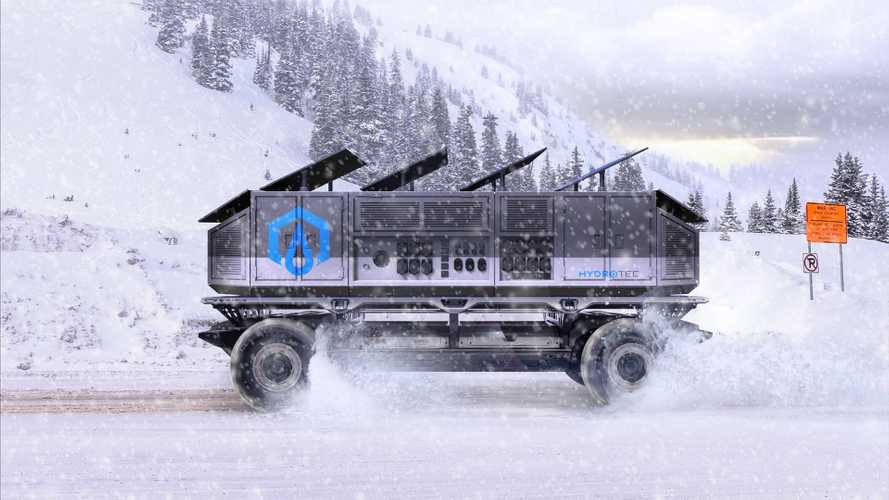Autonomous Surus Concept Is A Fuel Cell Truck Fit For Military Use