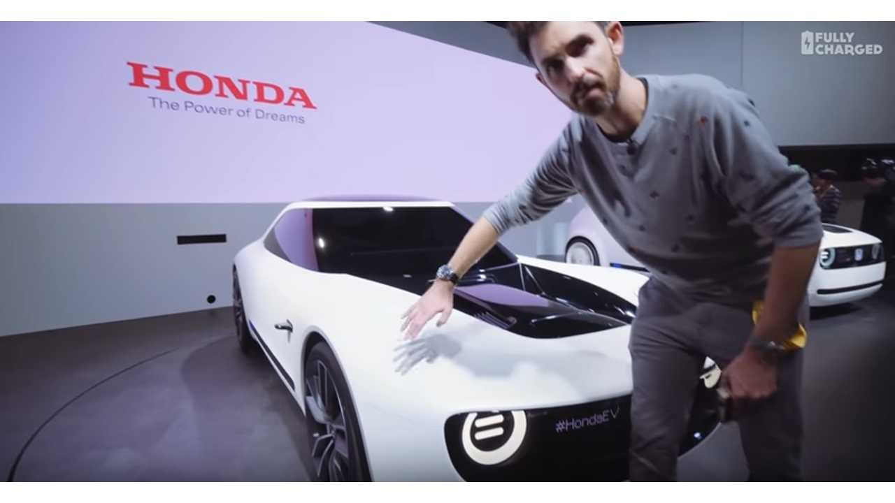 Jonny Smith check electric Honda at the Tokyo Motor Show - Fully Charged