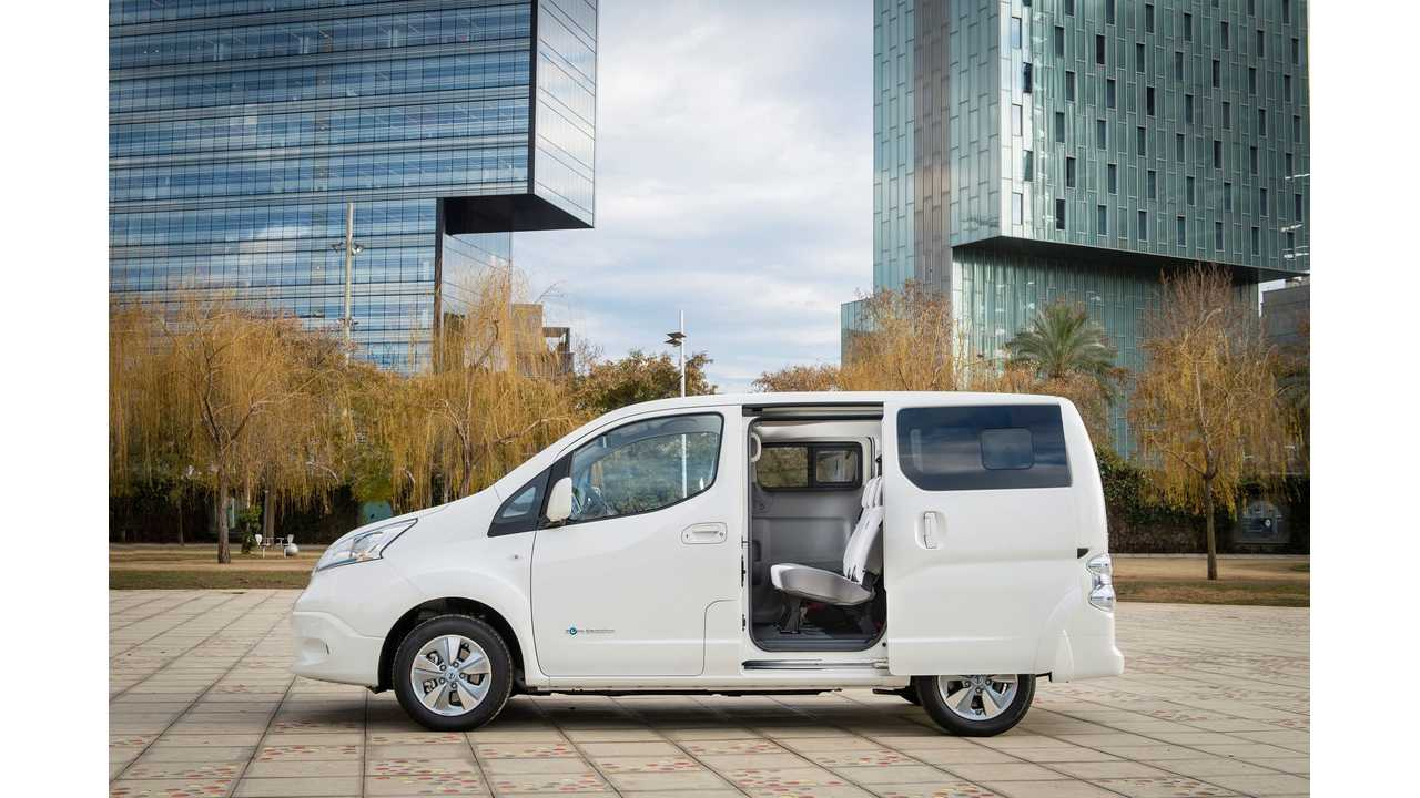 Nissan Europe Opens Order Books For e-NV200 With 40 kWh Battery