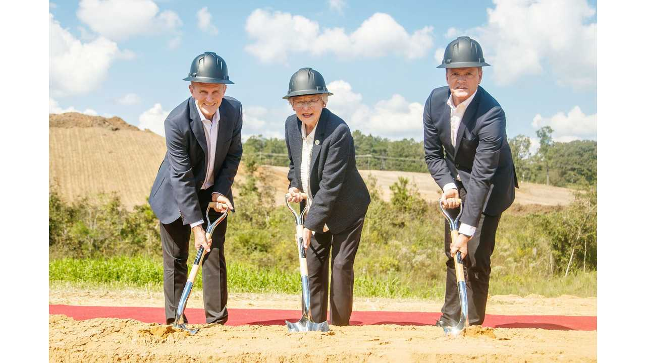 Daimler Starts Construction Of New Battery Factory In Alabama