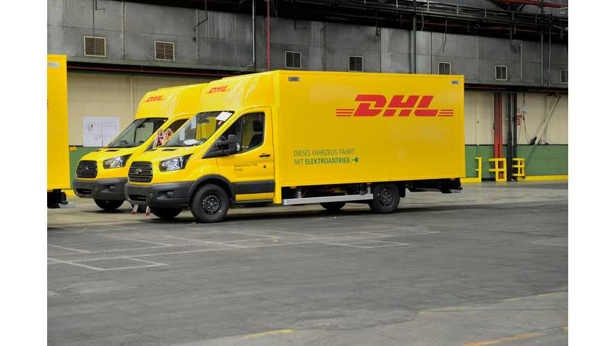 Ford Begins Production Of DHL Electric Streetscooters