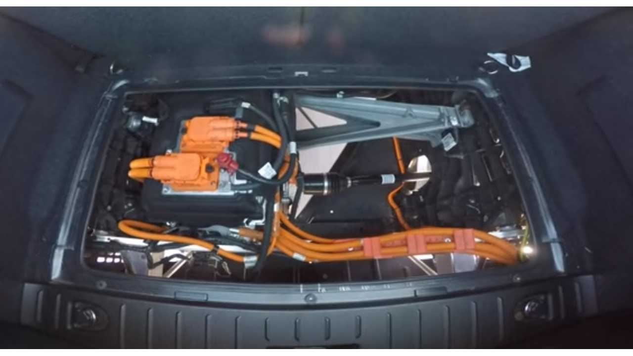 BMW i3 electric motor