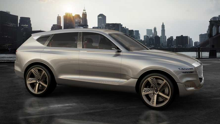 Genesis GV80 Plug-In Fuel Cell Concept SUV: Blending 'Athletic Elegance' With Hydrogen