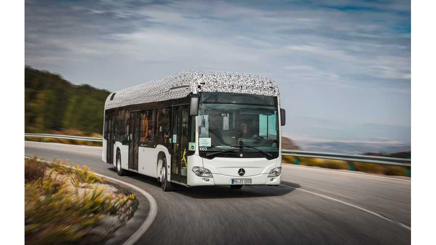 Mercedes Teases All-Electric Citaro - Debut Just Days Away