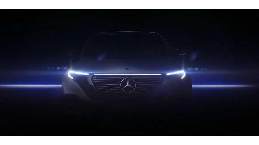Mercedes Teases EQC Again: